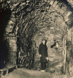 Tunnels in the 1930s. Courtesy of Tallinn City Museum