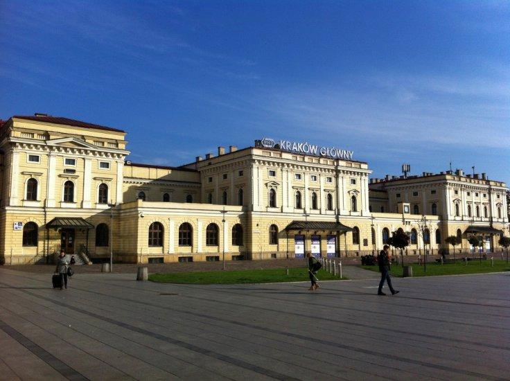 Former Main Train Station | Getting to Krakow | Krakow