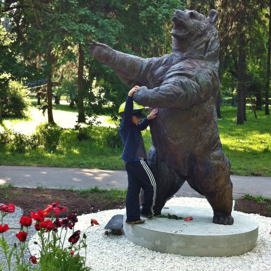 Wojtek, the Soldier Bear | Warsaw