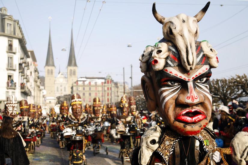Fasnacht - Lucerne's crazy carnival