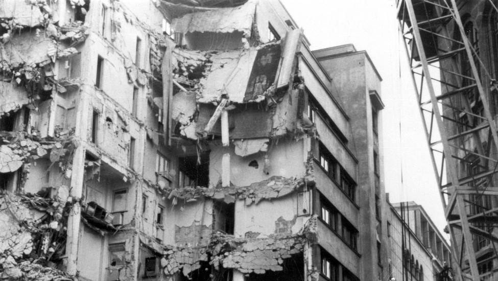 the bucharest earthquake of 1977