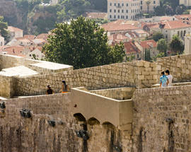 The City Walls, Bastions and Pile & Ploče Gates