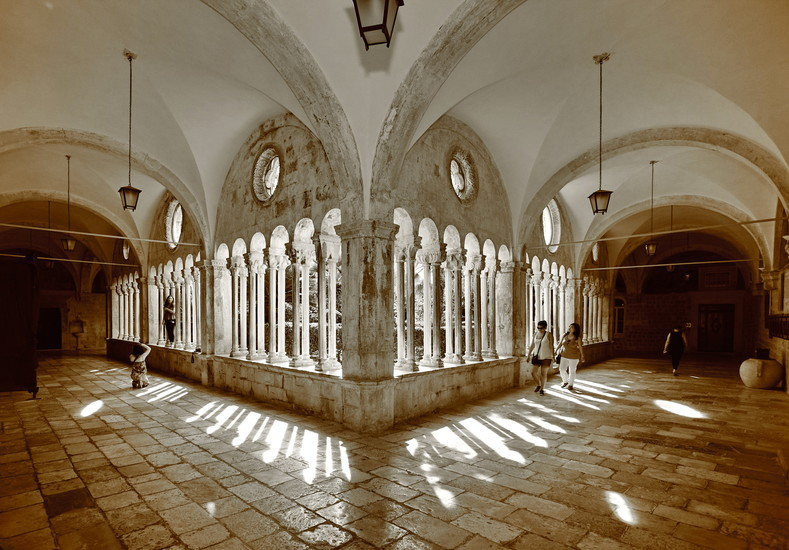 The Franciscan Monastery Of The Friars Minor And The