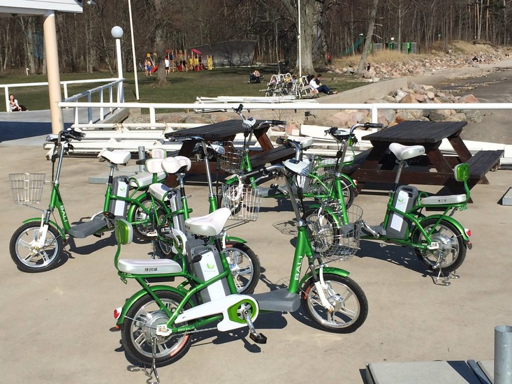 Electric bike rental leisure p rnu for Motorized bicycle shops near me