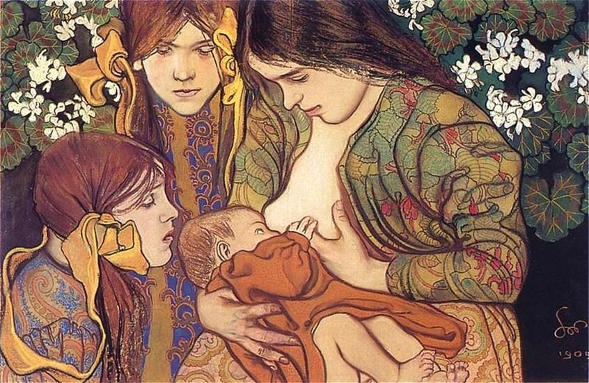 d6dbb3a66 'Motherhood,' 1905
