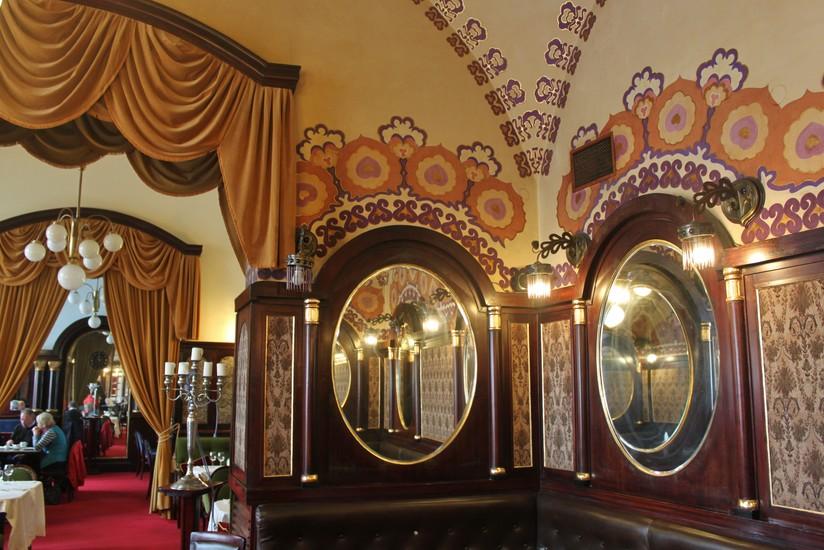 Noworolski Cafe Featuring Frescos By J243zef Mehoffer