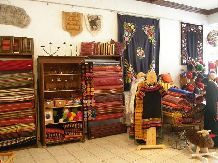Estonian Handicraft House Shopping Tallinn