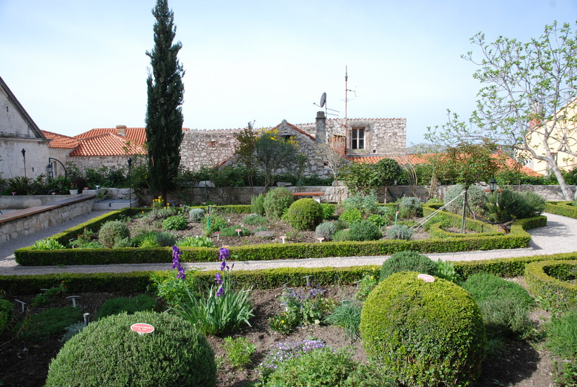 The Medieval Monastery Mediterranean Garden of St Lawrence ...