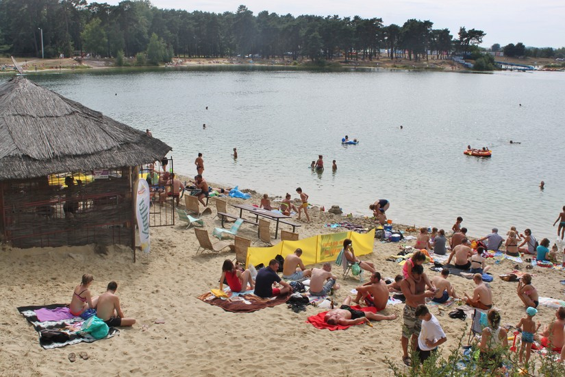 Kryspinow beach