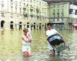 The 1997 'Millennium Flood' in Wrocław
