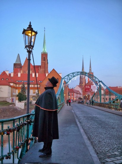 The Wrocław Lamplighter Wroclaw