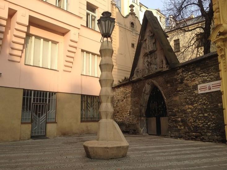 Czech Cubist architect...