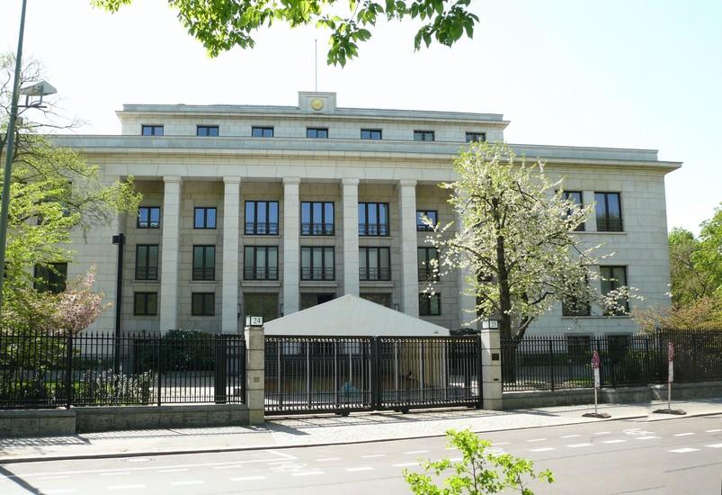 Embassy architecture berlin for Architecture berlin