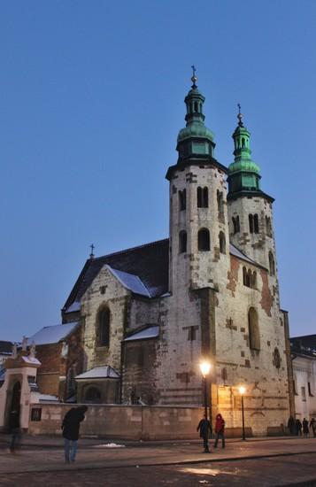 St Andrew S Church Krak 243 W Sightseeing Krakow