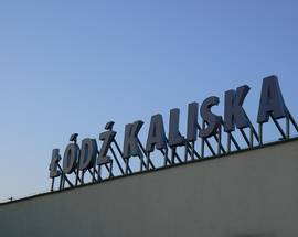Łódź Kaliska Train Station