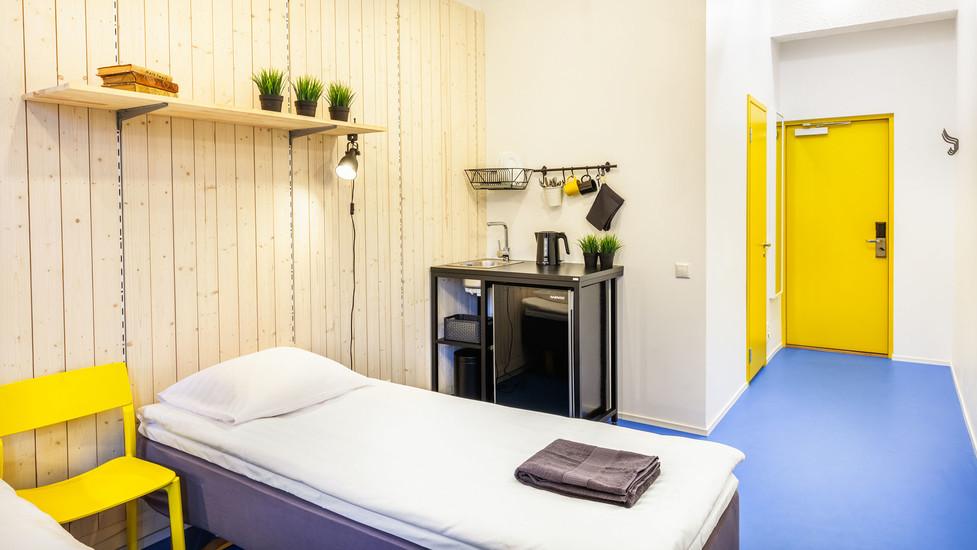 Hektor design hostel where to sleep tartu for Hostel design