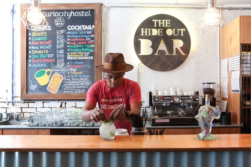 Curiocity hostel hostels johannesburg for African cuisine braamfontein