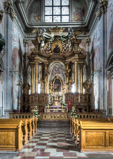 St Anne S Church Sightseeing Warsaw