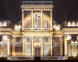 Royal Garden of Light 3D displays