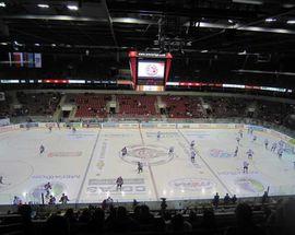 Hockey: Dynamo Rīga vs. CSKA Moscow