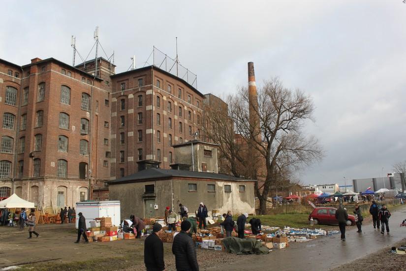 Flea Market Under The Mill Wroclaw