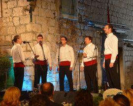 Festival of Dalmatian klapa Omiš