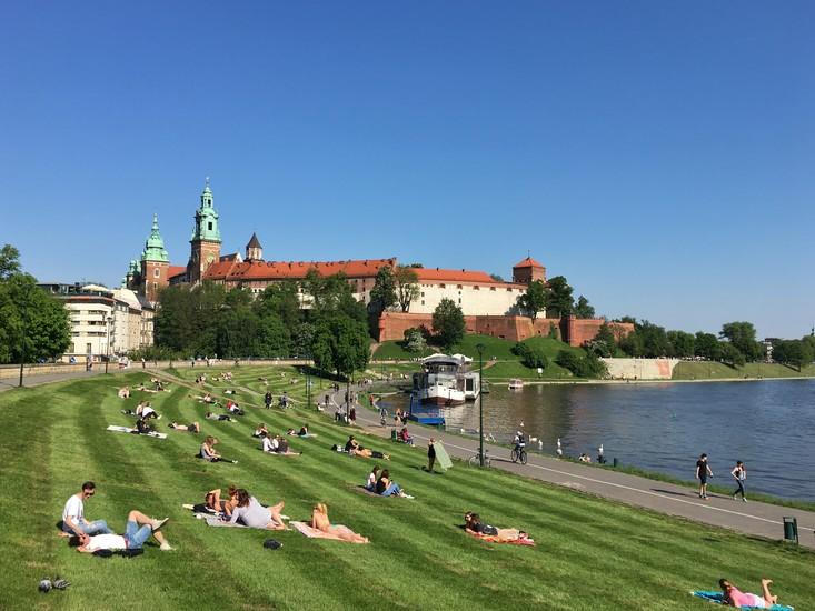 The Vistula Wisła River