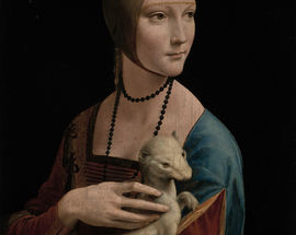 "Leonardo da Vinci's ""Lady with an Ermine"""