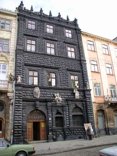 black stone house what to see lviv