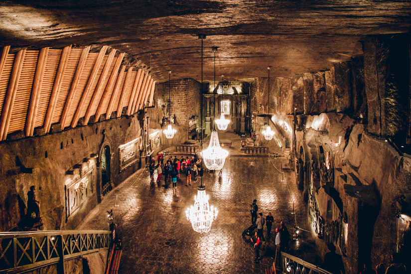 Image result for wieliczka-saltmine