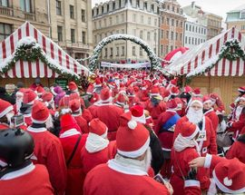 Santa's Charity Fun Run