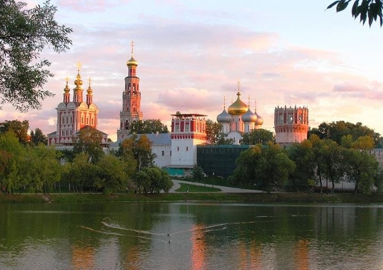 Monastero Novodevichy Moscow.Novodevichy Sonvent Sightseeing Moscow