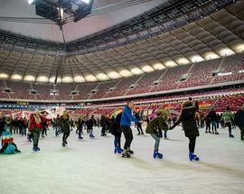Winter at the National Stadium