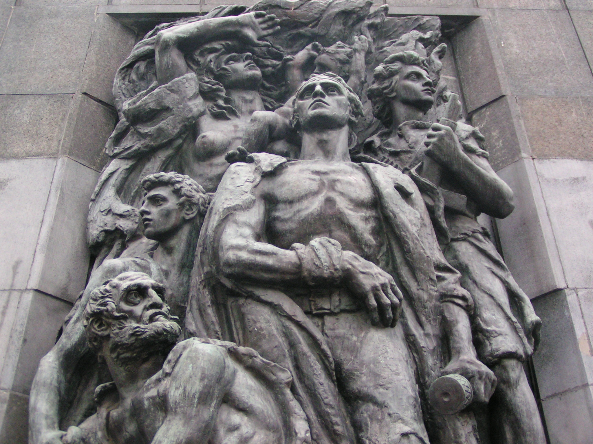 ghetto heroes monument sightseeing warsaw
