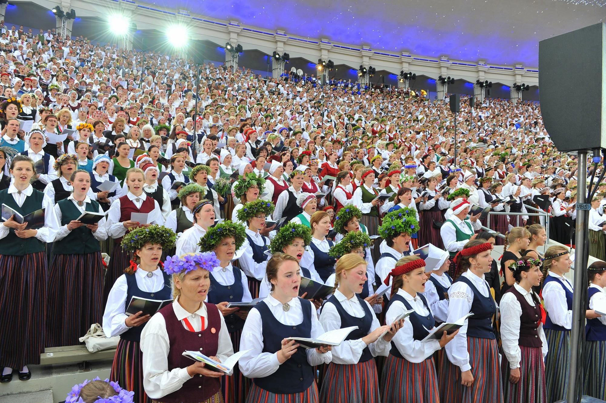 Xxvi Latvian Song And Xvi Dance Festival 2018 Riga