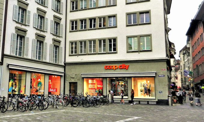 Coop City Shopping Lucerne