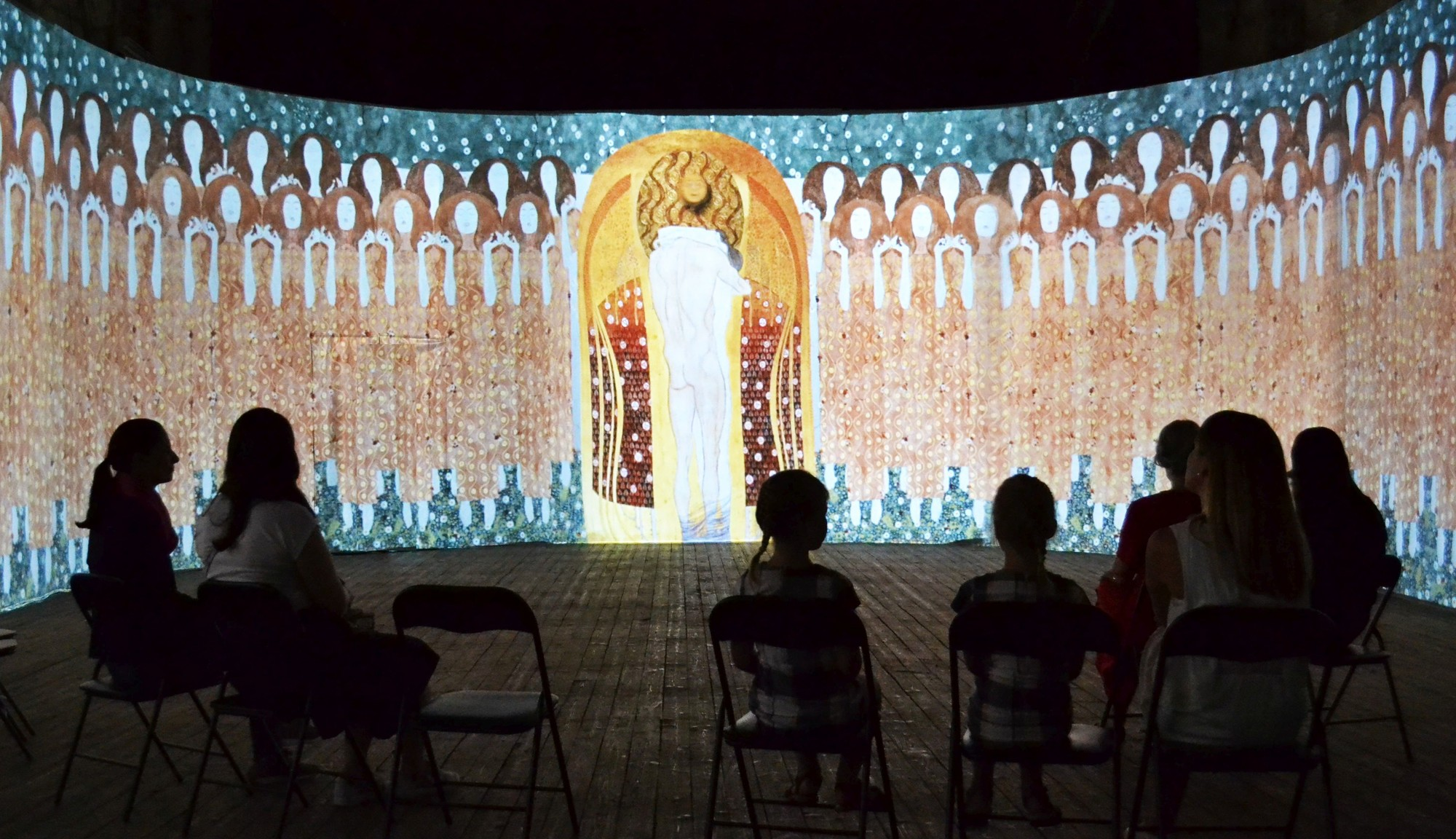 Monet2klimt Innovative Multimedia Art Exhibition Tallinn