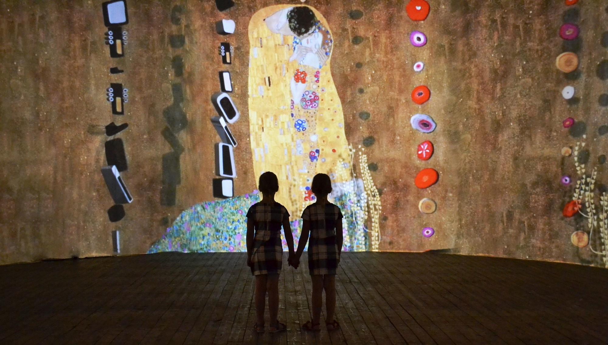 From Monet To Klimt Innovative Multimedia Art Exhibition