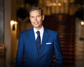 Sven Gevers,  the General Director of Belmond Grand Hotel Europe