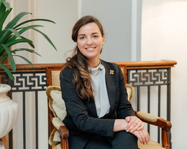 Olga Kachalova, Chief Concierge at Four Seasons Lion Palace Hotel