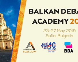 Balkan Debate Academy 2019