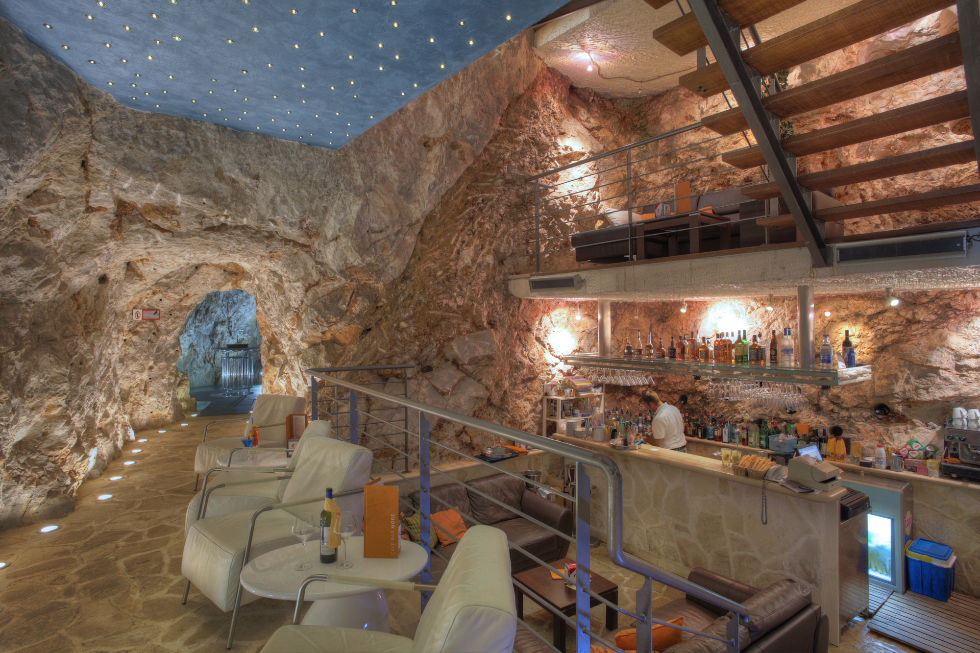 Cave Bar More Coffee Cakes Dubrovnik