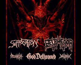 Suffocation, Belphegor & God Dethroned