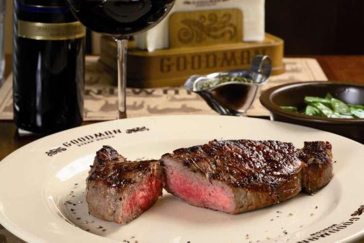 Goodmans Steak Restaurant Set Menu