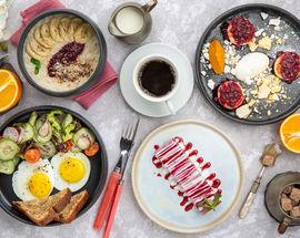 Завтраки в ресторане «Сафьян»