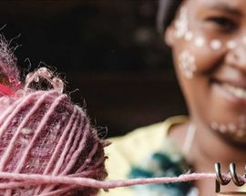 Knitting workshop with Adele's Mohair