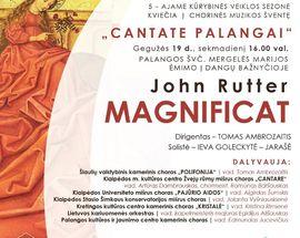 Cantate Palangai. Celebration of Choral Music