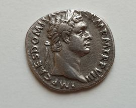 Roman Imperial portraits of silver coins from the Archaeological Museum collection