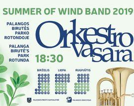 Orkestro vasara. Concerts of Wind Instruments
