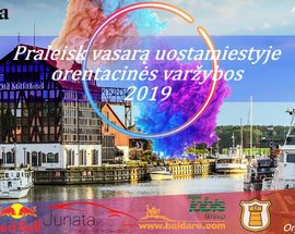 Spend the summer in the port city / Orienteering Competition 2019